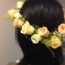 花冠をお届けしました…