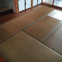 床の間の畳を・・・