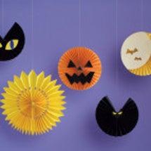 ハロウィン用の室内装…