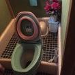 【簡易水洗トイレ①】…