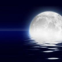 スーパームーン満月●…