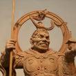 毘沙門天 日本木彫刻…