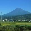 新幹線車窓からの富士…