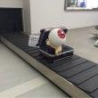米子空港に降り立った…