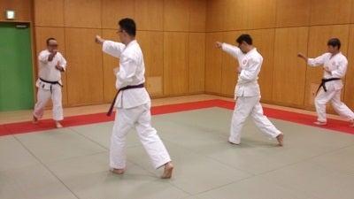 日本拳法講武会館品川道場:練習風景
