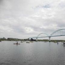 江戸川放水路のハゼ釣…