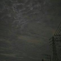 満月のかくれんぼ。