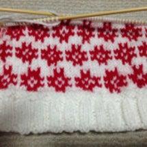 編みこみ 棒編み ニ…