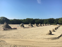 砂の造形展2016