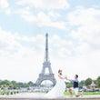パリ*エッフェル塔で…