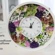 かすみ草の花時計♡