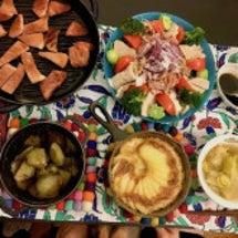 肉肉しく芋芋しい食卓…