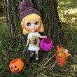 秋と落ち葉とキノコち…