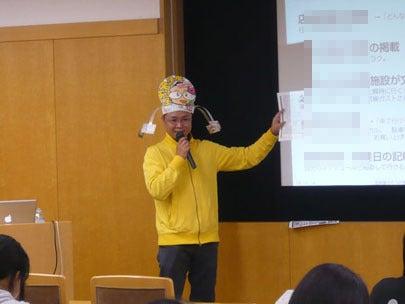 売れるチラシ作成セミナー in 岡山県の様子