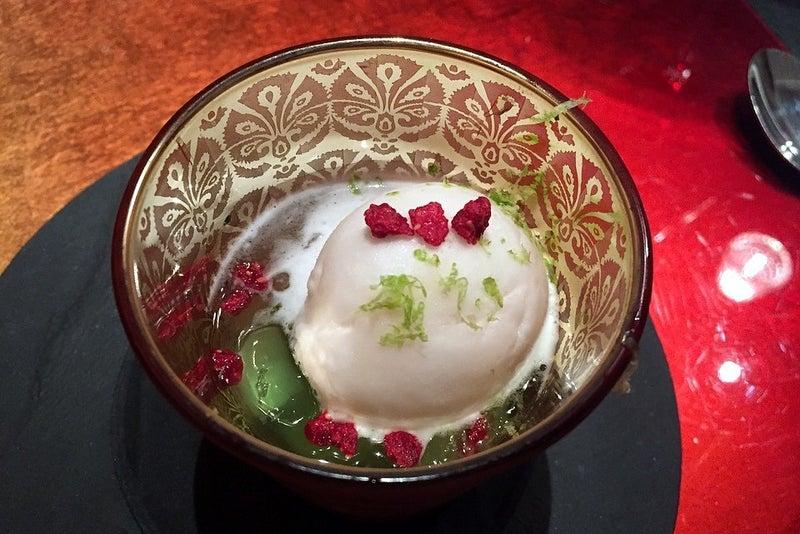 ペリエを使ったアイス