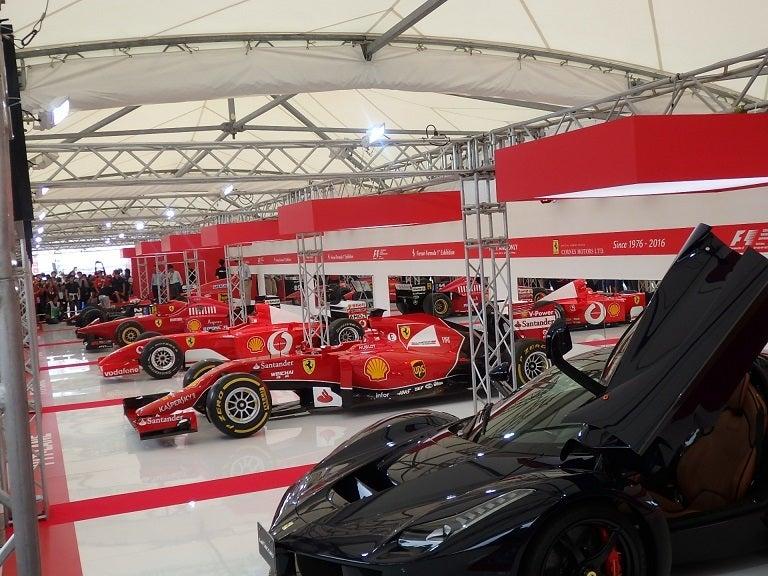 F1日本GP特別展示 Ferrari Formula1 Exhibition