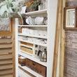 食器棚の棚数を変える…
