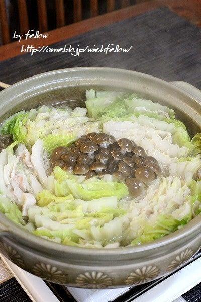 白菜と豚バラ鍋