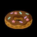 ピグライフ チョコドーナツクッション