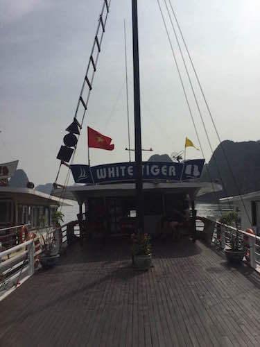 ベトナム ハノイ ハロン湾クルーズ船クルーズ船