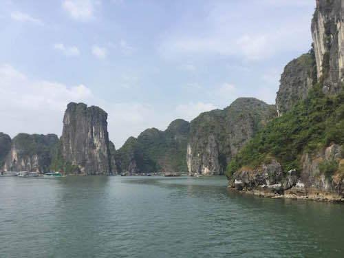 ベトナム ハロン湾 絶景