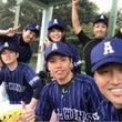 CS野球部初試合初勝…