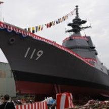 海自の新護衛艦「あさ…