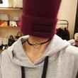 刺繍ニット帽