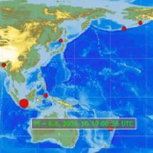世界の地震 スーパー…