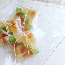 市松模様の琥珀糖