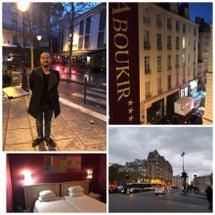 パリ到着しました