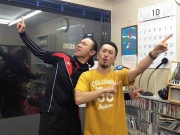 侍ダンサー ドニー坂本&ナシモン on FMいわき