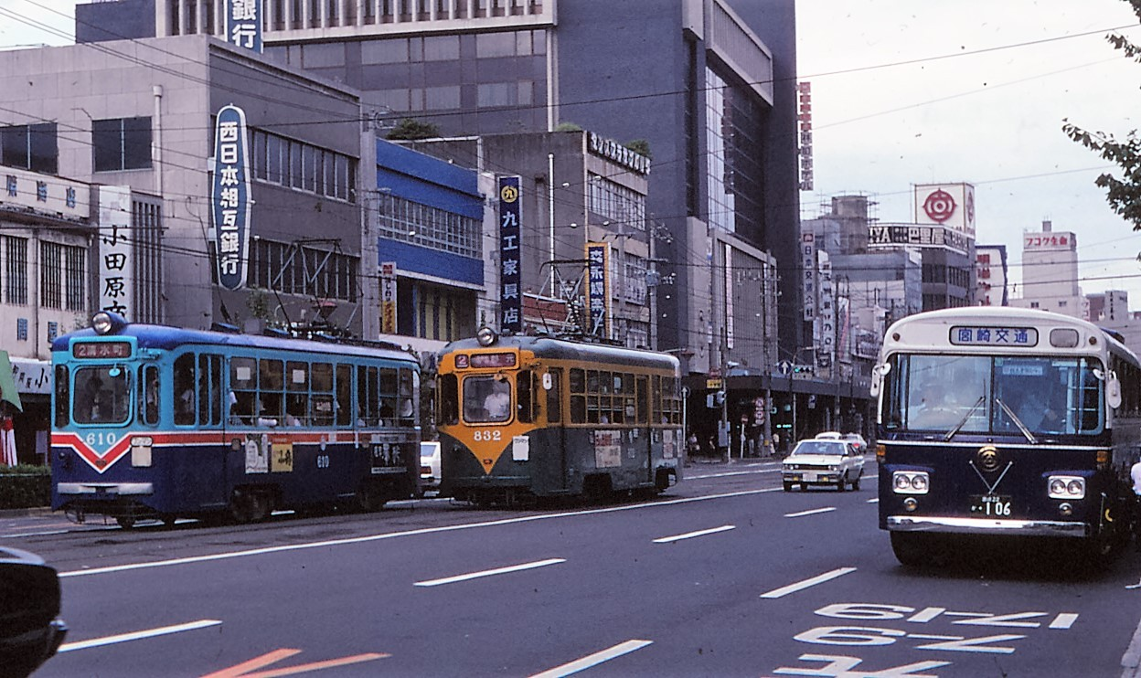 akaの鉄道最新撮影&秘蔵記録1980年走行していた鹿児島市電コメント