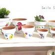 デコパージュ 植木鉢…