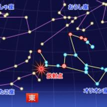 今夜はオリオン座流星…