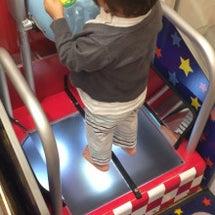 息子の足のサイズ