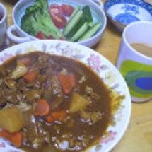 昨日の晩御飯と冬支度…