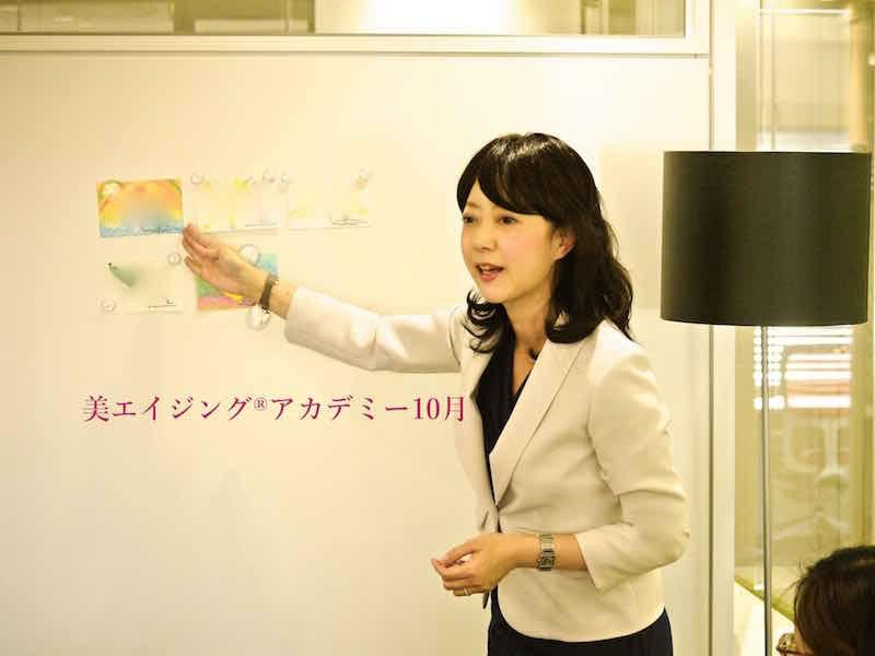 桜井まどか美エイジング代表セミナー講師・女社長