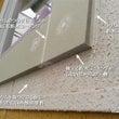 窓トリムの防水処理