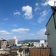 屋上から空と雲