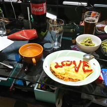 今日の晩御飯!