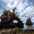 機具岩と厳門