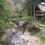 木の村でバーベキュー