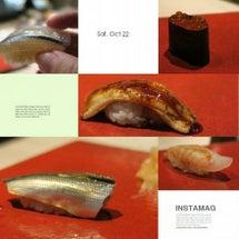 昨夜は西麻布でお寿司…
