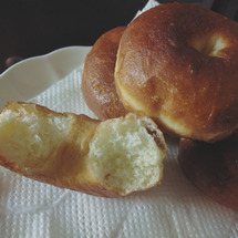 超簡単ドーナッツ作り…