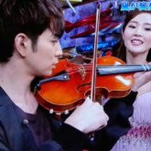 ヴァイオリンと嵐さん…