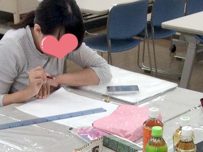 調布チョークアート教室の様子1