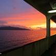 佐渡島の旅 早朝の衝…