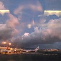 雲海の夕焼け