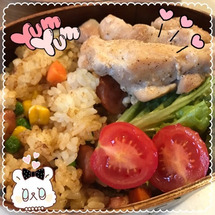 今日のお弁当♪(๑ᴖ…